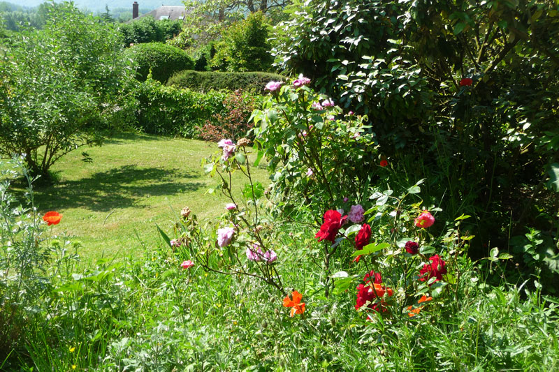 Giverny chambres d 39 h tes les coquelicots for Jardin giverny