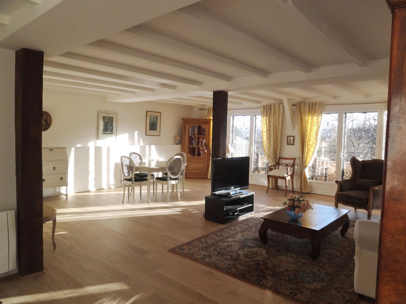 Giverny bed and breakfast christine et stephan cloos for Amenagement salon salle a manger 30m2