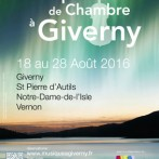 MUSIQUE DE CHAMBRE IN GIVERNY | 2016