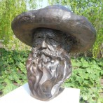 Giverny | Bust of Claude Monet
