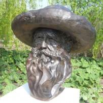 Buste de Claude Monet
