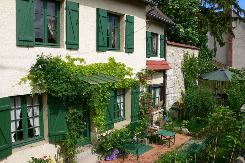 Giverny chambres d h tes le trou normand giverny for Le jardin normand