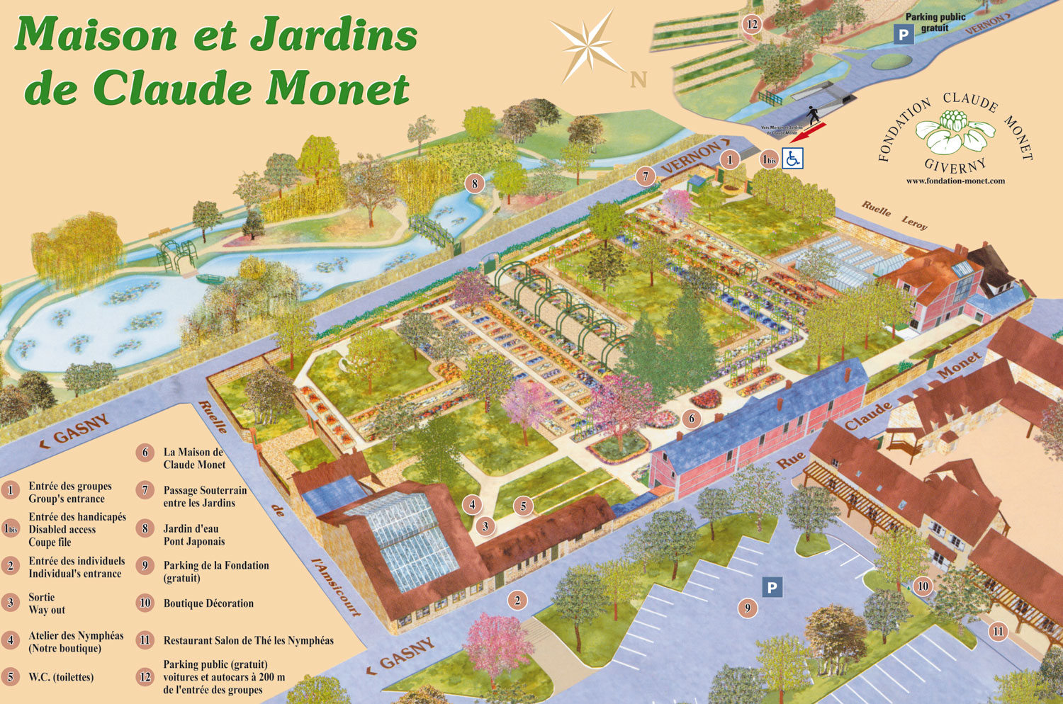 Giverny the foundation claude monet - Abonnement maison et jardin ...