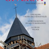 Magazine municipal de Giverny | 2008-2009