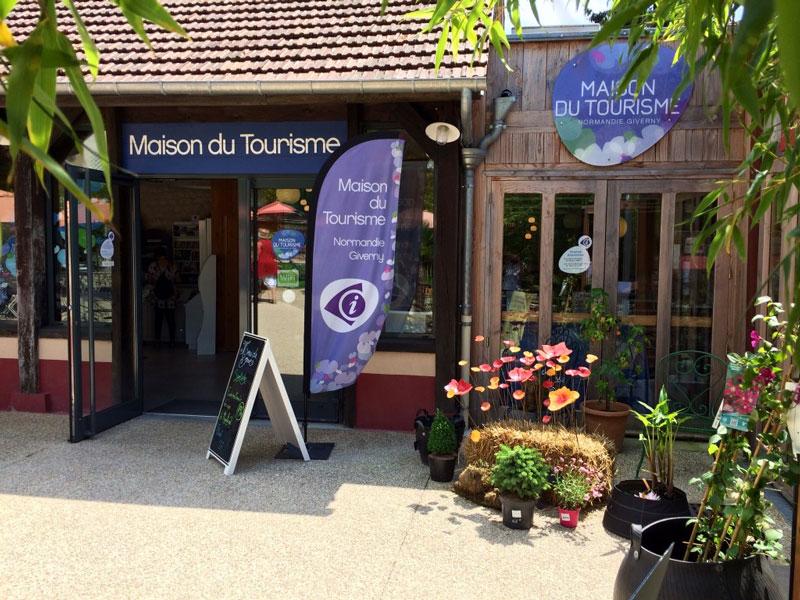 La maison du tourisme giverny normandie - Office du tourisme giverny ...